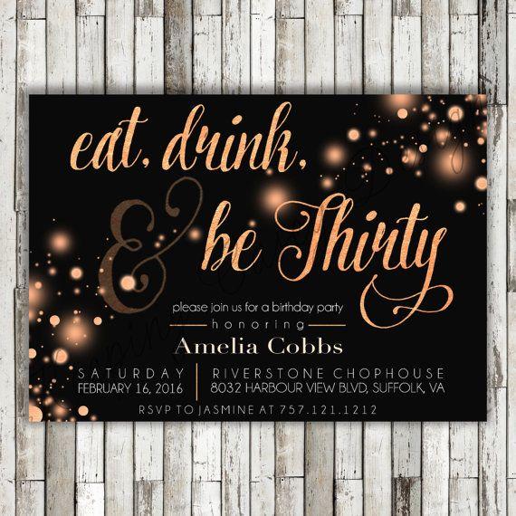 best 25+ 30th birthday invitations ideas on pinterest | surprise, Birthday invitations
