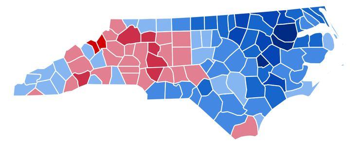 North Carolina Presidential Election Results 1952