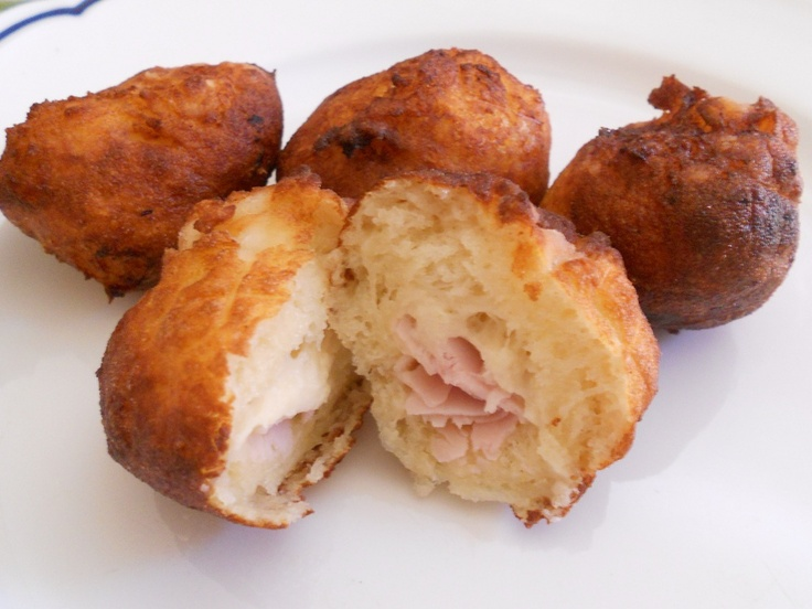 Bombette di patate al prosciutto