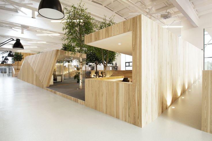 Gestalten | LENNE by KAMP Arhitektid : Building a Bright Summer Forest in a Soviet-Era Factory
