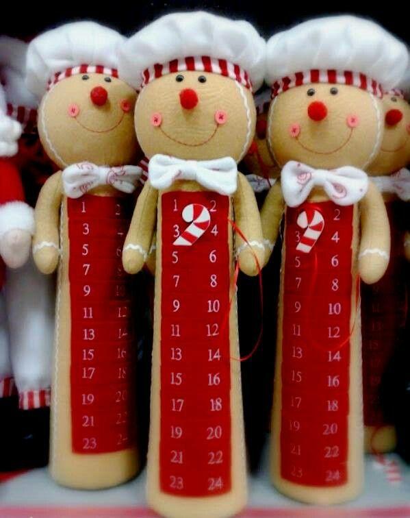 Con latas de pringles ideas navidad pinterest artesanato - Manualidades con fieltro para navidad ...