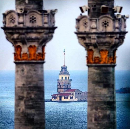 Maiden's Tower - Istanbul.                                                                                                                                                                                 More