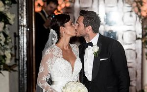 Chelsea's Frank Lampard gets married(photos)   Chelsea football club's highest goalscorer of all time Frank Lampard today got married to his wife Christine Bleakely after a lengthy 5 year relationship in which she has been step mom to the footballer's two children from his ex-wife.  The 36 year old Christine who wed Frank37 today at St Paul's Church in Knightsbridge looked stunning in a princess style dress with one of the footballer's daughters Isla as a flower girl and many football…