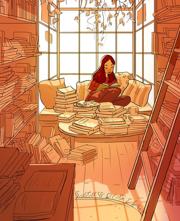 Artist Perfectly Captures The Intimate Magic Of Living Alone