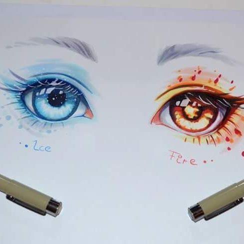 Starà a me decidere quale occhio usare..