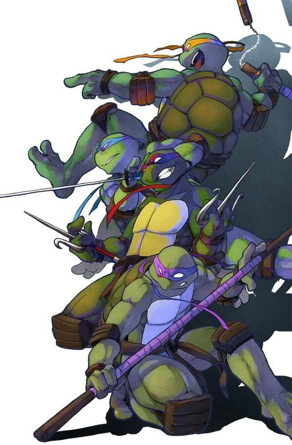 TMNT 2003 by PUWAPUNA on deviantART