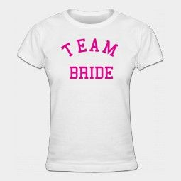 Team Bruid Dames t-shirt