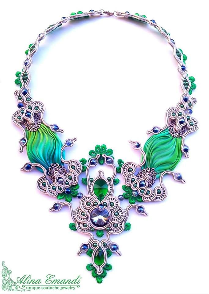 a splendide necklace, by Alina Emandi - Romania
