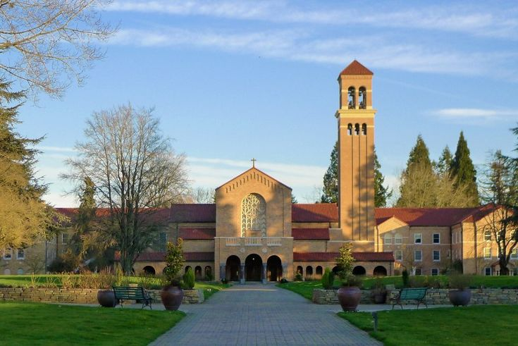 Retreats and how to plan them.The church at Mount Angel Abbey. Since 1882, the abbey has been situated on a hilltop above the small town of Mt. Angel in Oregon's Willamette Valley. Photo Credit: Courtesy Mount Angel Abbey