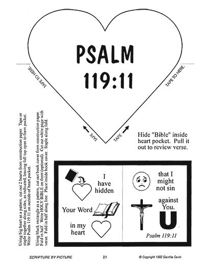coloring pages for psalm 119 - photo#12
