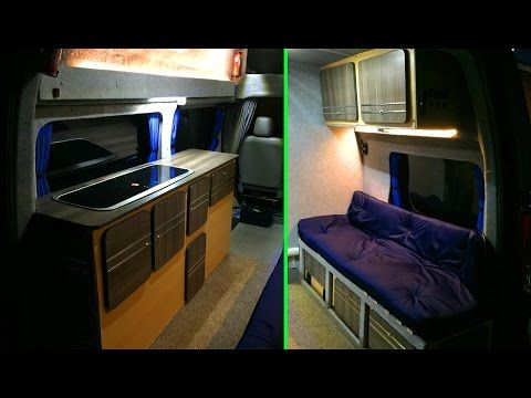 SELF-BUILD MOTORHOME - INTERIOR REBUILD - Low Budget - YouTube