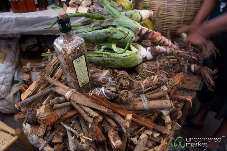 Traditional medicines and remedies for what ails you at the Marché en Fer in Port-au-Prince, Haiti.