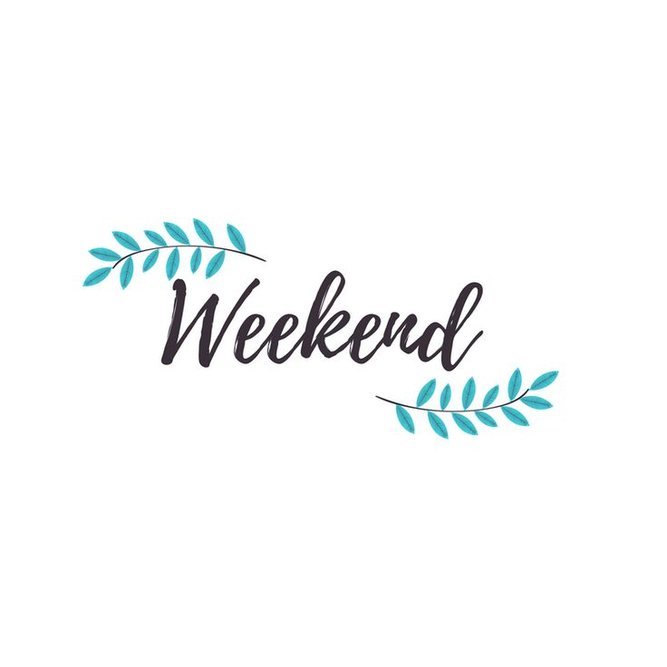 Enjoy your weekend!  #friyay #weekend #family #friends