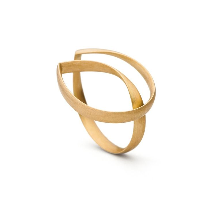 purador Designerschmuck | Ring Zartblätter Gold | Designer Ring Gold