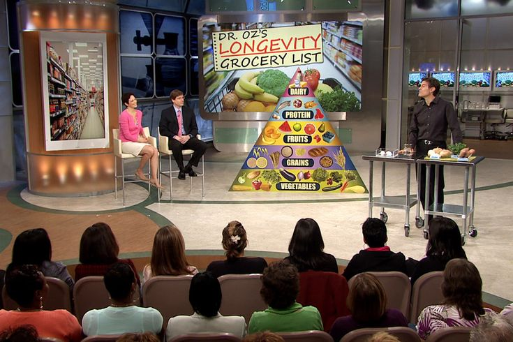 Dr. Oz's Longevity Grocery List