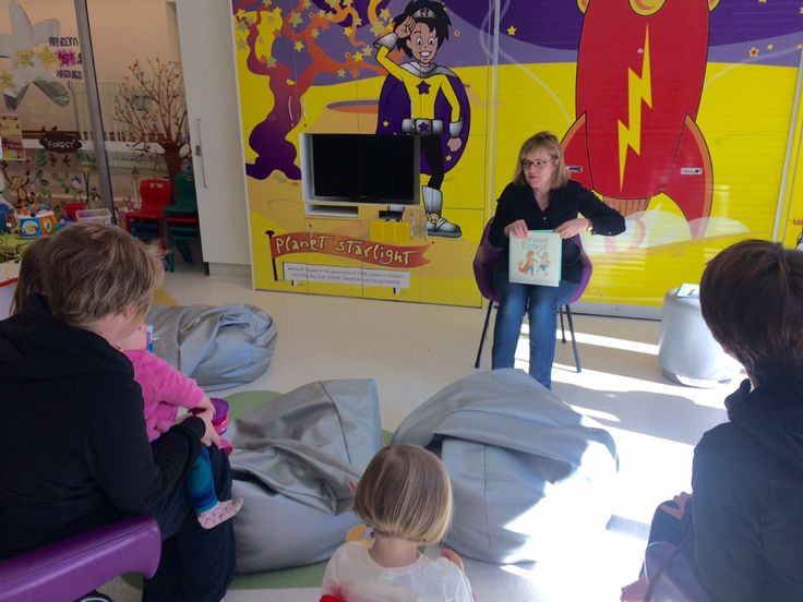 A privilege to read stories with the Captain Starlight children today.