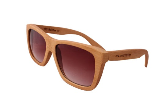 wooden sunglasses from einstoffen available from our e-shop!