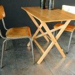 Industrieel Houten Klaptafels Terrastafels Bistro tafels | Dehuiszwaluw