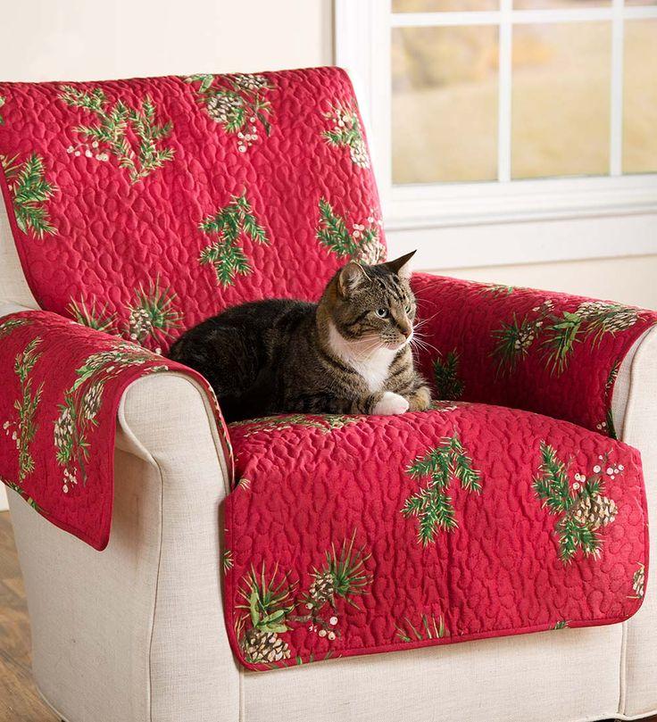 Peaceful Pine Pet Sofa Cover