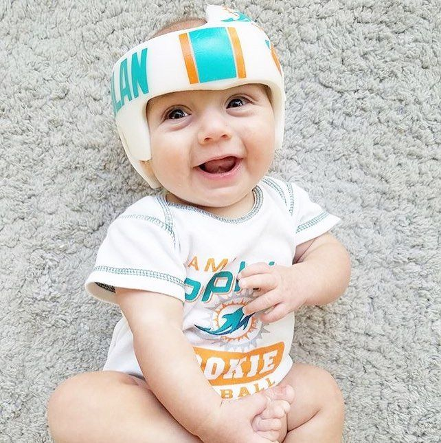 If Your Little Ones Have To Wear A Cranial Helmet There Are More Than A Few Ways To Work Their Cute Headgear Into Their Halloween Costume Cute Games Cute Baby