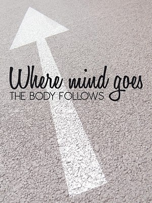 "What is your relationship with exercise or movement? Replace your negative thoughts about ""exercise"" with positive thoughts about having fun moving your body joyfully. For ideas: http://pinterest.com/aptedsf/yoga-and-movement/"
