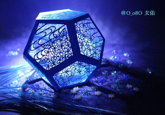 立体切り絵 3 dimensional kirie