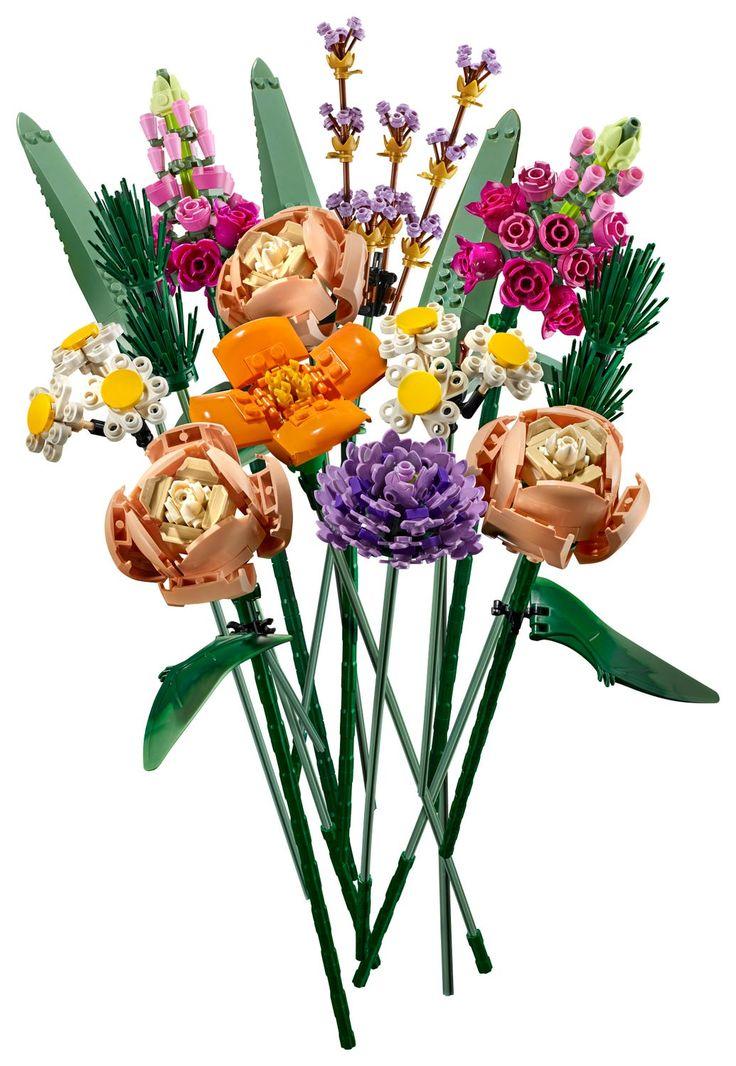 Flower bouquet 10280 creator expert buy online at the