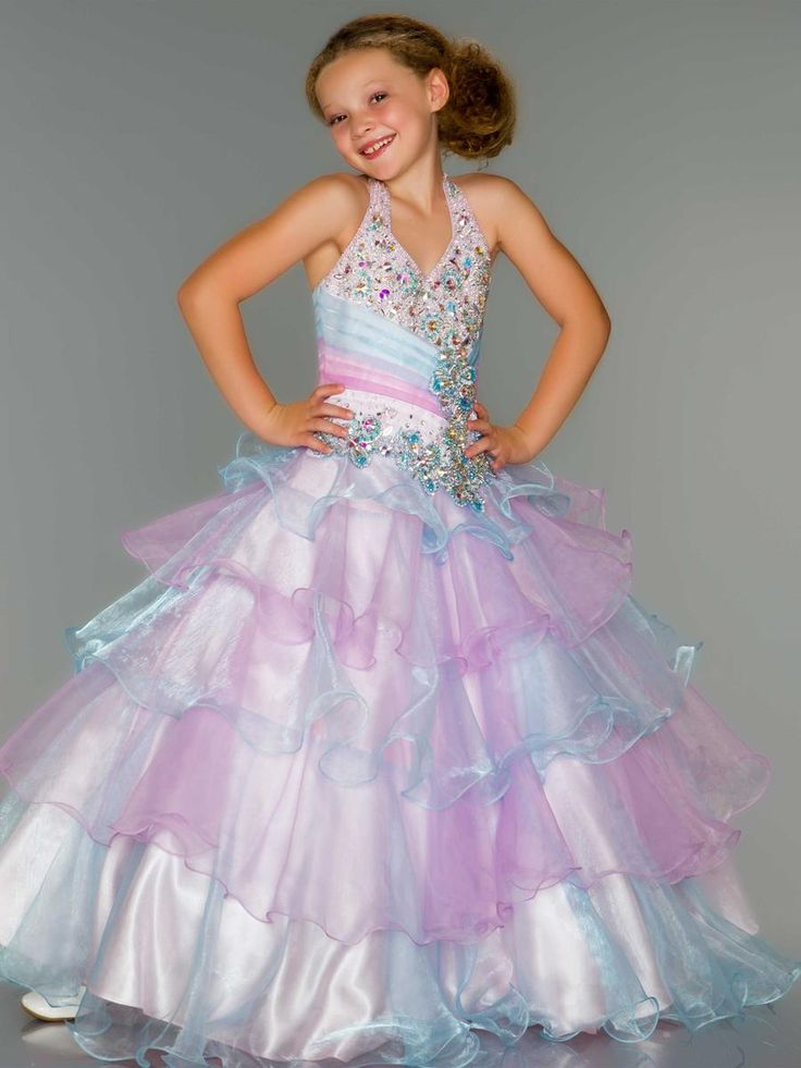 Sugar 81807S Girls Pageant Dresses size 4 6