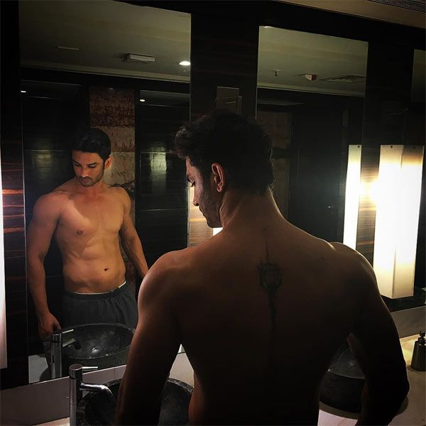 OMG! Sushant Singh Rajput joins Deepika Padukone as he gets inked! #SushantSinghRajput #Bollywood http://www.glamoursaga.com/sushant-singh-rajput-looks-incredibly-sexy-in-this-shirtless-pic/