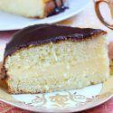 Receta de Pastel de crema de Boston (Boston cream pie) - Hogarmania