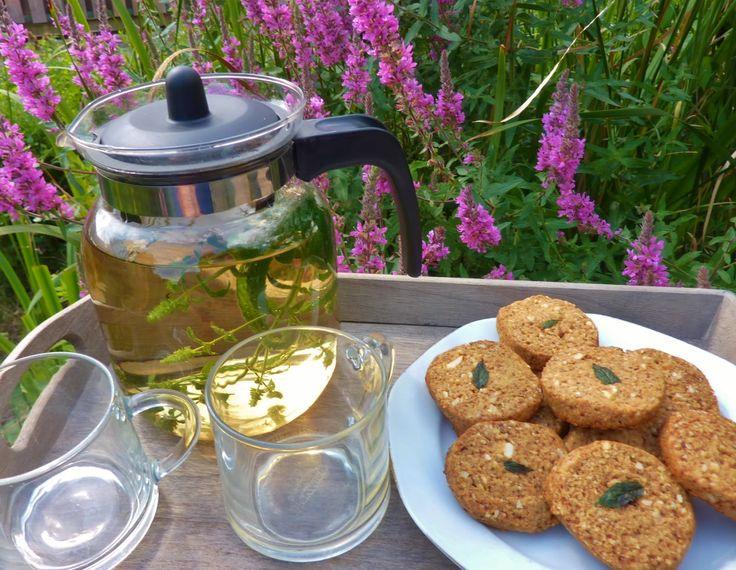DE GULLE AARDE: pepermuntbloemen koekjes