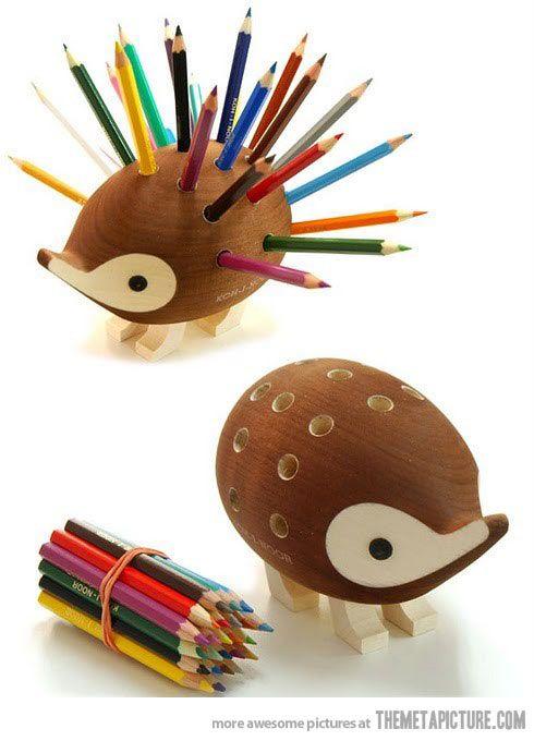 Hedgehog Pencil Holder…