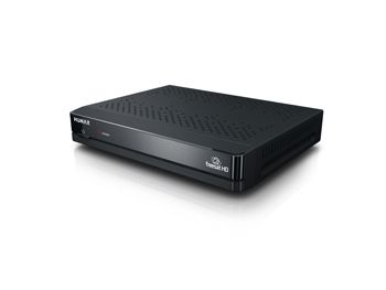 Humax HB-1000S Freesat Set Top Box (STB)  Freesat HD Satellite receiver Network ready via Ethernet free time EPG, BBC iPlayer, ITV Player, 4OD, Demand 5 and YouTube. PVR ready but requires external HDD (not included) for PVR functionality HDMI Cable Included
