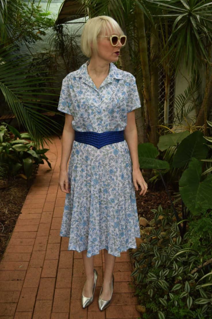 Vintage dress Antonia of Sydney by GingerPopVintage on Etsy