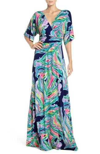 86789e9e9e02dc NEW-Lilly-Pulitzer-PARIGI-MAXI-DRESS-Bright-Navy -Don-039-t-leave-me-hanging-XS-S