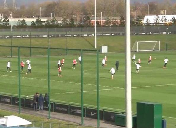 Gael Clichy scores spectacular long-range stunner in Man City training (Video)