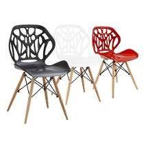 Cadeira Design Moderna Base Eiffel Dkr Charles Eames Colors