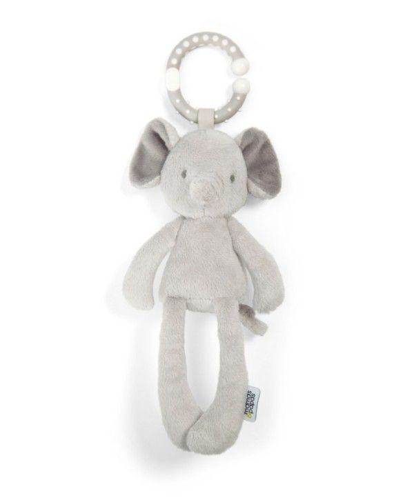 Helistin, purulelu ja halipehmo samassa pienessä norsussa! Tähän vauvat ihastuvat!Lue Lisää