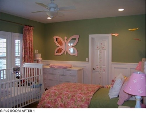 Shared kids room ideasbaby and toddler