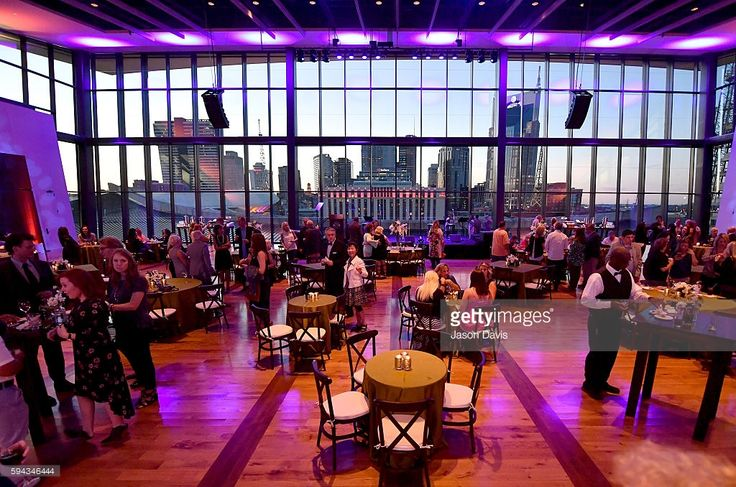 A view of the reception during the debut of the 'Alabama: Song of the South' exhibition at Country Music Hall of Fame and Museum on August 22, 2016 in Nashville, Tennessee.