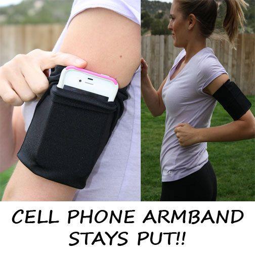 MEDIUM Cell Phone Armband Running Jog Comfortable by Speedzter