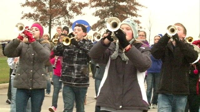 Benton Community HS band to play in Chicago Thanksgiving Parade