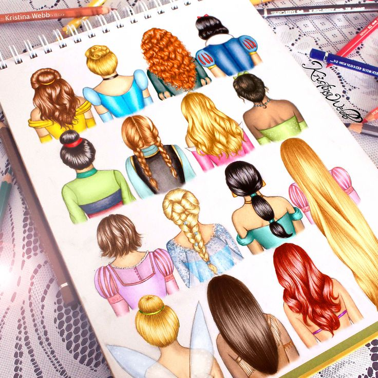 Disney Hairstyles find this pin and more on the wonderful world of disney by bystyles Disney Hairstyles Drawing