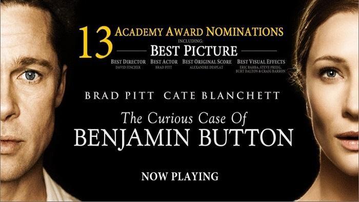 Film The Curious Case Of Benjamin - Umur Brad Pitt Menua, Wajah Malah Kian Muda, Malam Ini di HBO