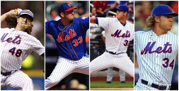 #MLB: La rotación de los Mets luce como la mejor de Grandes Ligas en el papel