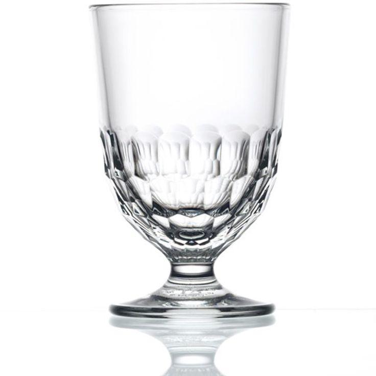 Verre à pied en verre alvéolé (par 6) Artois La Rochère - GM