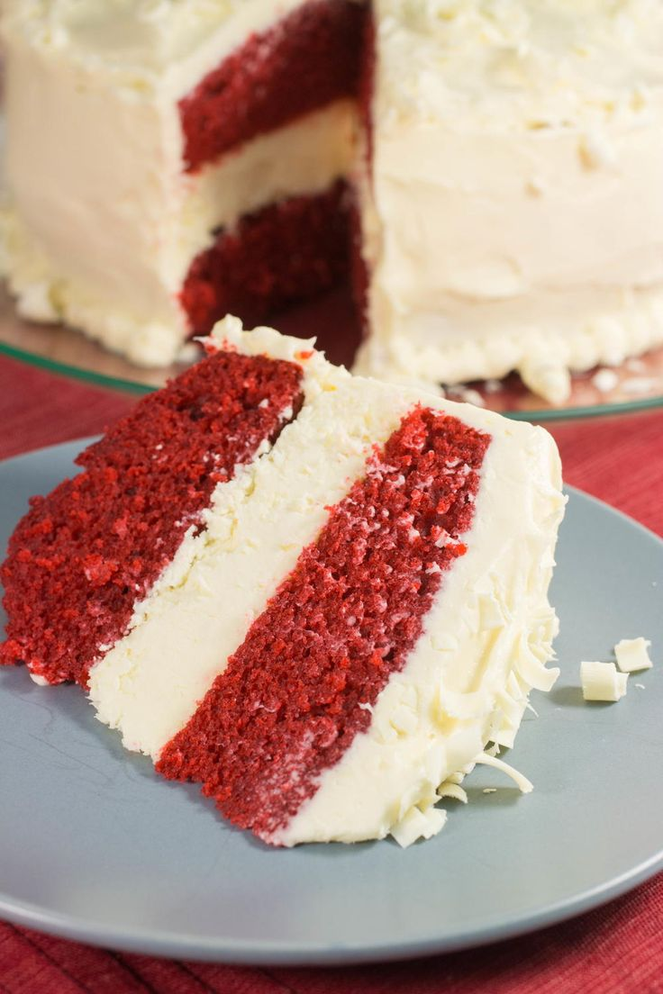 Better Than Cheesecake Factory Red Velvet Cheesecake | AllFreeCopycatRecipes.com