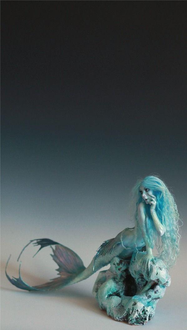 Scandinavian Mermaid OOAK by Nicole West | eBay