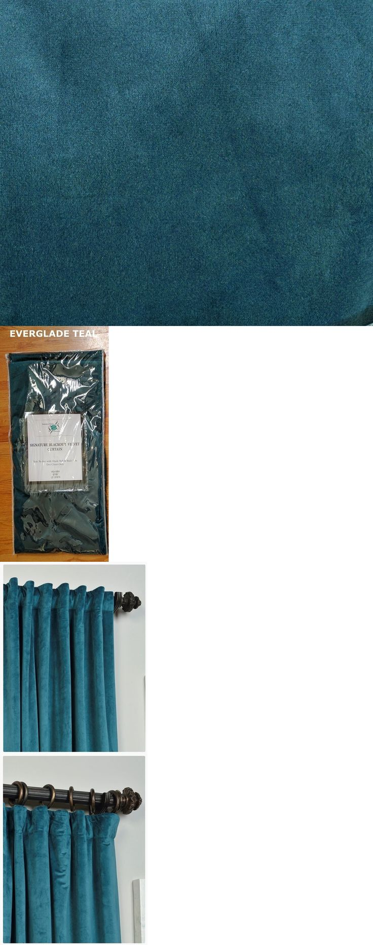 Olive green window panel in curtains amp drapes compare prices - Curtains Drapes And Valances 45515 1 Pair 2 Panels Signature Velvet 96