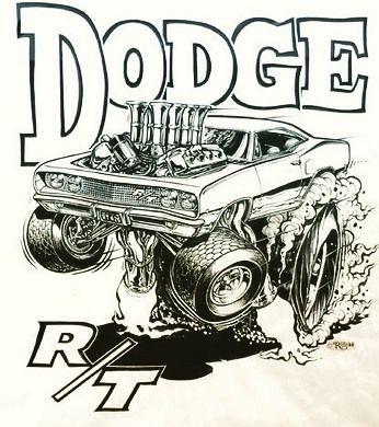 #Dodge #Coronet #ratfink